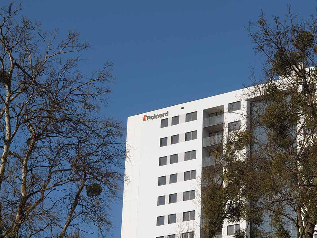 zewnętrzne oznaczenia budynku litery blokowe / building exterior signage block letters / Externe Gebäudebeschilderungen Blockbuchstaben